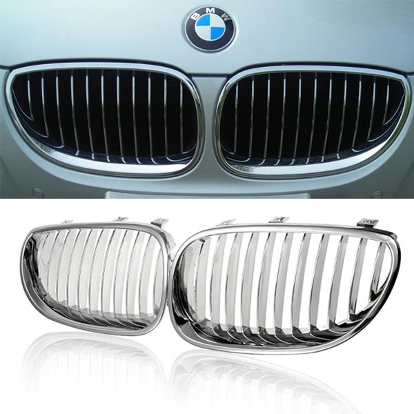 Car Front Wide Grille for BMW E60 E61 M5 2003-2009