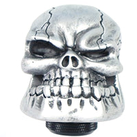 Universal Car Chrome Skull Gear Stick Shift Knob Lever