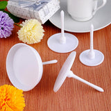 4pcs Cup Cake Stand Icing Cream Flower Decorating Nail Set Baking Tools