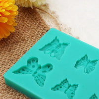 Butterfly Chocolate Mold Fondant Pastry Mould Cake Decoration Creative Baking Tools
