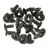 10PCS Push Type Retainer Clips For GM Ford Chrysler 6503598/N807389S