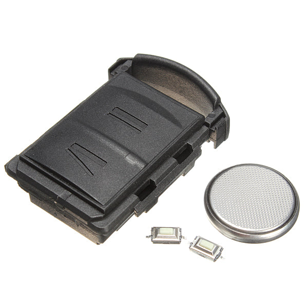 2 Button Remote Key Fob Repair Kit For Vauxhall Opel Corsa Combo