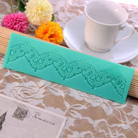Silicone Lace Fondant Mold Cake Decorating Mould Gum Paste Sugarpaste Mold FDA LFGB