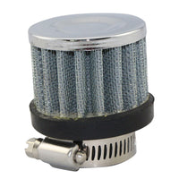 25mm Caliber Car Stainless Steel Mushroom Head Style Air Cleaner Filter