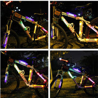 LED Bicycle Flashing Light Night Riding Cycling Warning Light Outdoor Safety Light