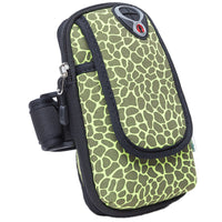 Outdoor Sports Jogging Arm Bag Phone Package Mobile Phone Arm Pouch Camouflage Printing