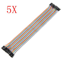 200pcs 30cm Female To Female Breadboard Wires Jumper Cable Dupont Wire
