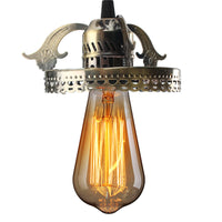 Antique Industrial Vintage Ceiling Pendant Light Lamp Bulb Chandelier Fixture For Indoor Lighting