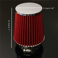 3 Inch Universal Performance Cold Induction Air Filter Racing Injection Intake Kit