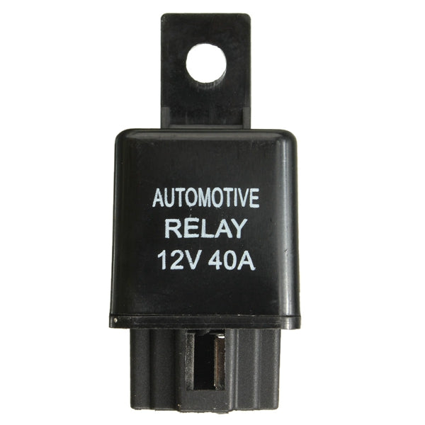 Car Auto Relay 4 Pin SPST Alarm Relay Automotive Van Boat Bike 12V DC 40A 40 AMP