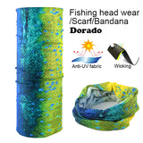 Fishing Headwear Scarf Fishing Bandana Fishing Accessories Multifunctional Neckerchief