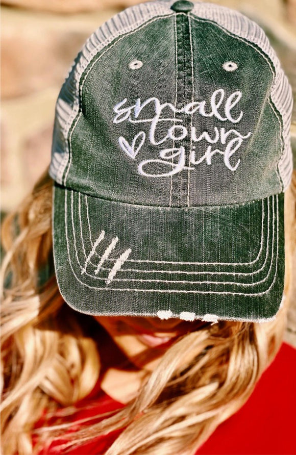 Small Town Girl Trucker Hat