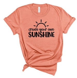 Create Your Own Sunshine Tee (Classic and Plus Size)