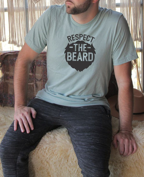 Respect the Beard Mens Tee