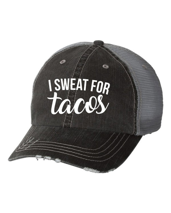 I Sweat for Tacos Trucker Hat
