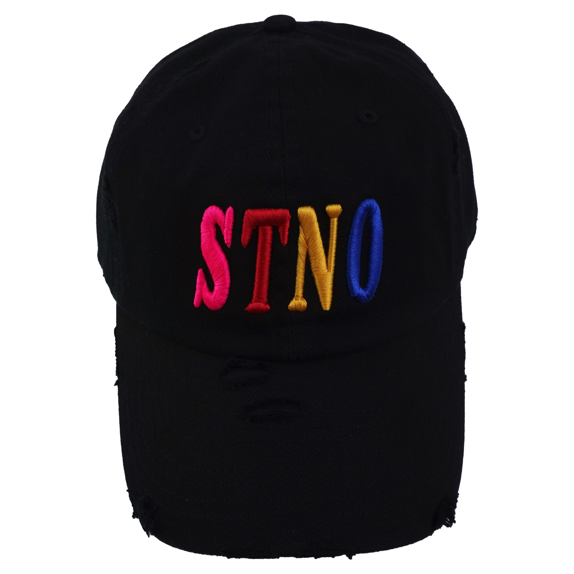 3D Puff Distressed Dad Hat