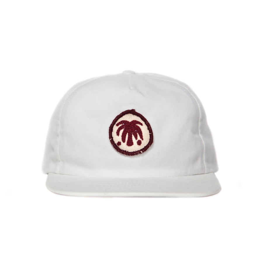 White Palm Patch Cap