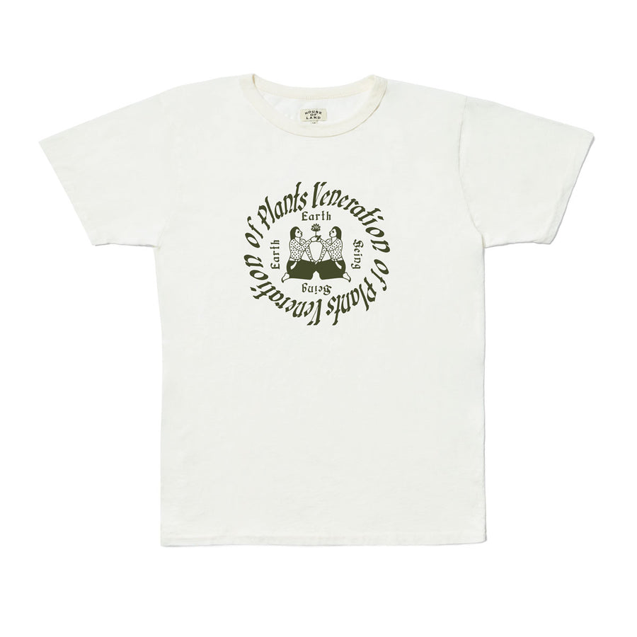 Veneration of Plants Tee - Natural White