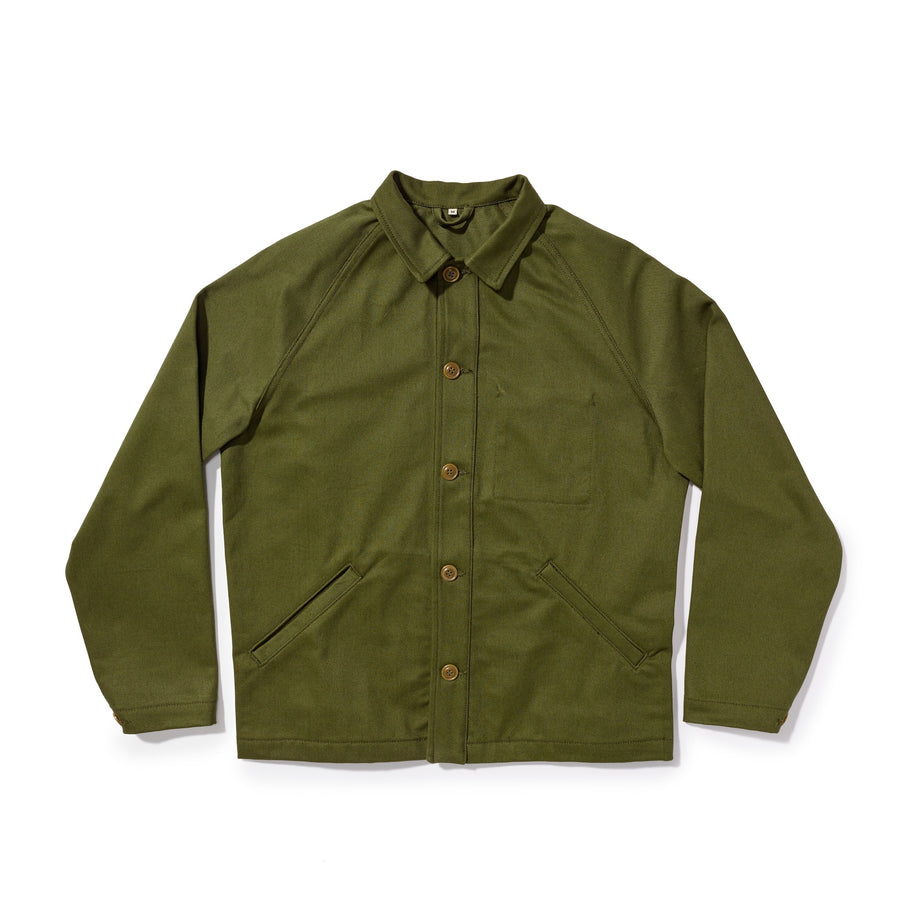 Shop Jacket - Dark Olive