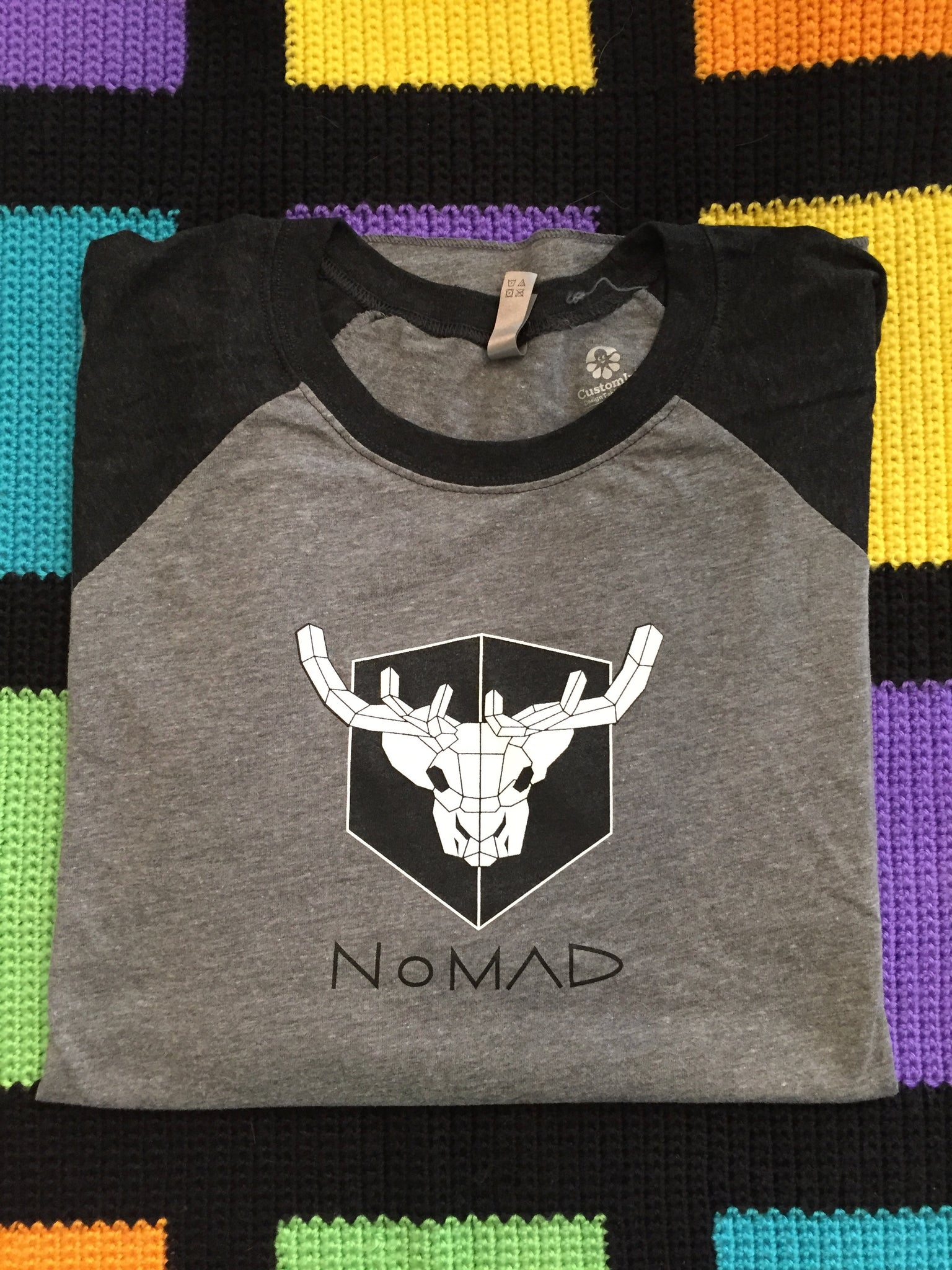 NoMAD Black Sleeve Baseball Jersey