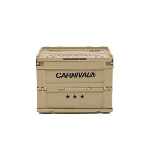 Carnival x Tower Box Folding Container 20L - Beige