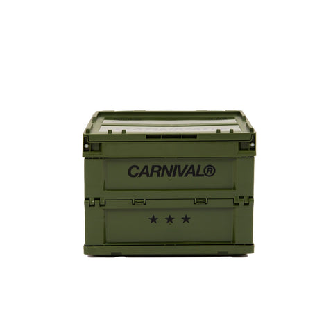 Carnival x Tower Box Folding Container 20L - Olive