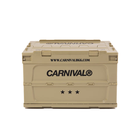 Carnival x Tower Box Folding Container 50L - Beige