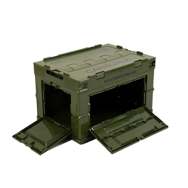 Carnival x Tower Box Folding Container 50L - Olive
