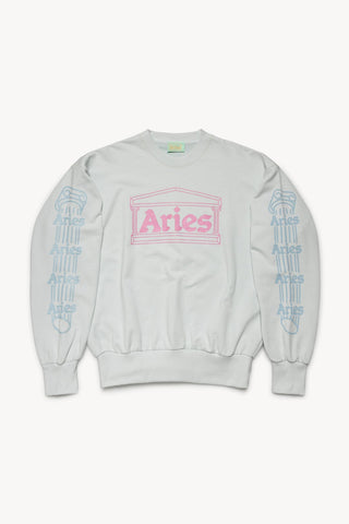 Column Sweatshirt - Pale Blue
