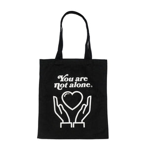 You Are Not Alone Essential Shopping Tote Bag - Black
