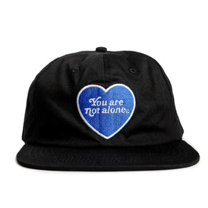 You Are Not Alone Snapback - Black