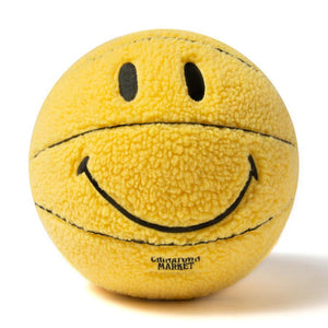 Smiley Plush Basket Ball