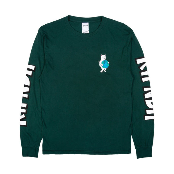 Fuck Everything L/S Tee Hunter Green