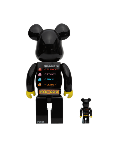 Pac-Man Bearbrick - 400% + 100%