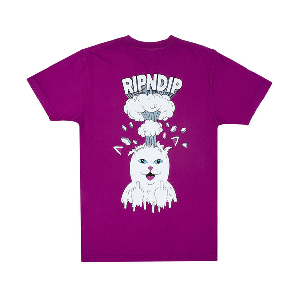 Mind Blown Tee Purple