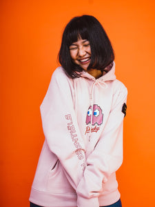 Pinky The Ghost Hoodie - Pink