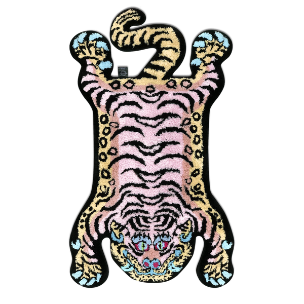 Raw Emotions - Tibetan Tiger Rug