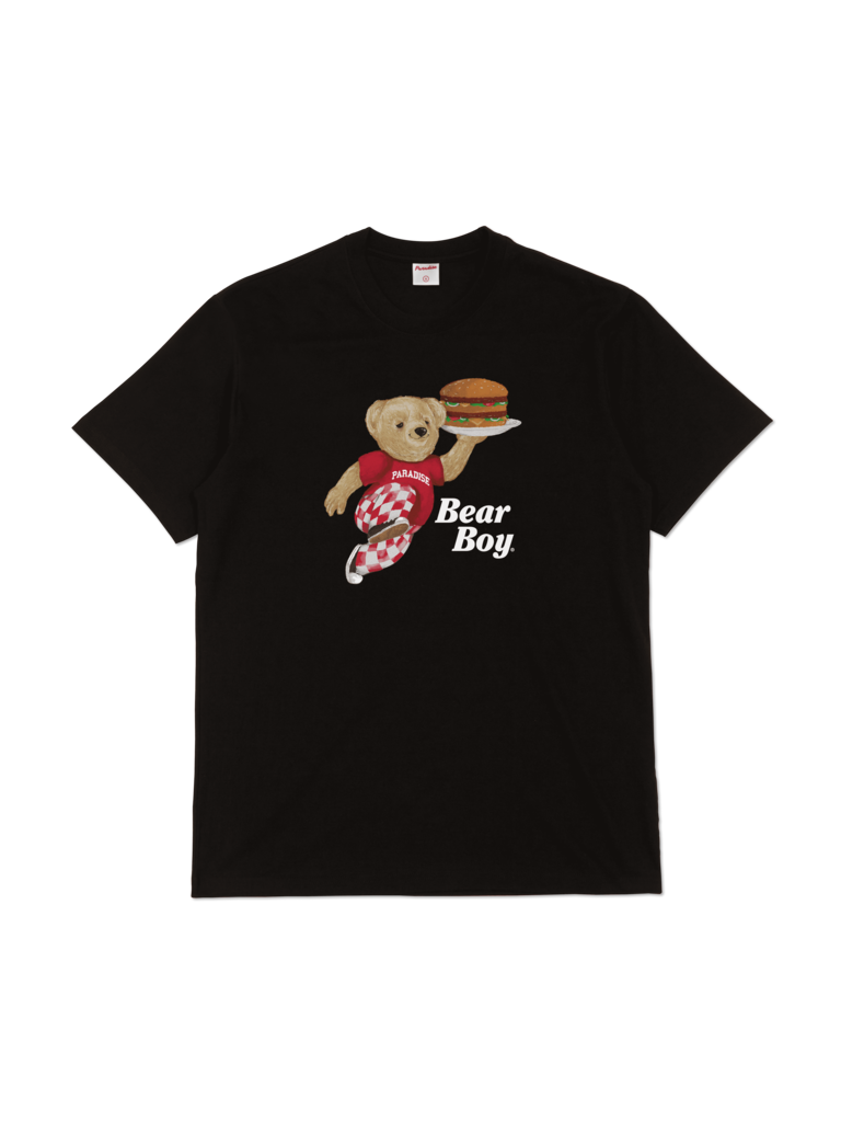 Bear Boy T-Shirt Black