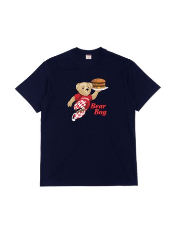 Bear Boy T-Shirt Navy