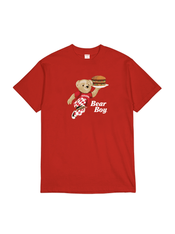 Bear Boy T-Shirt Red