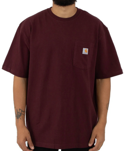 Workwear Pocket Tee - Port