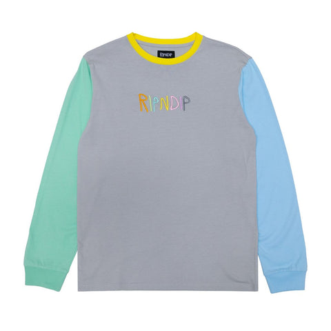Embroidered Logo Long-sleeve Tee