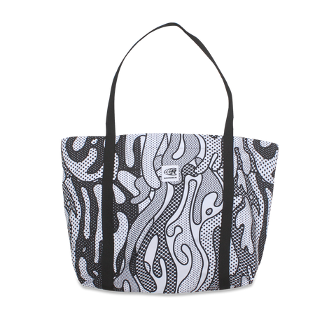 Foldable Tote Bag - Particle Black