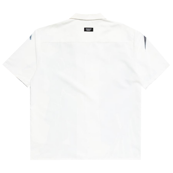 NYC Short Sleeve Button Up Shirt - White