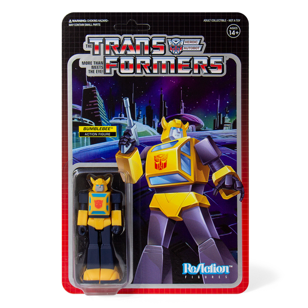 Transformers ReAction Figure - Bumblebee - Prizm Made