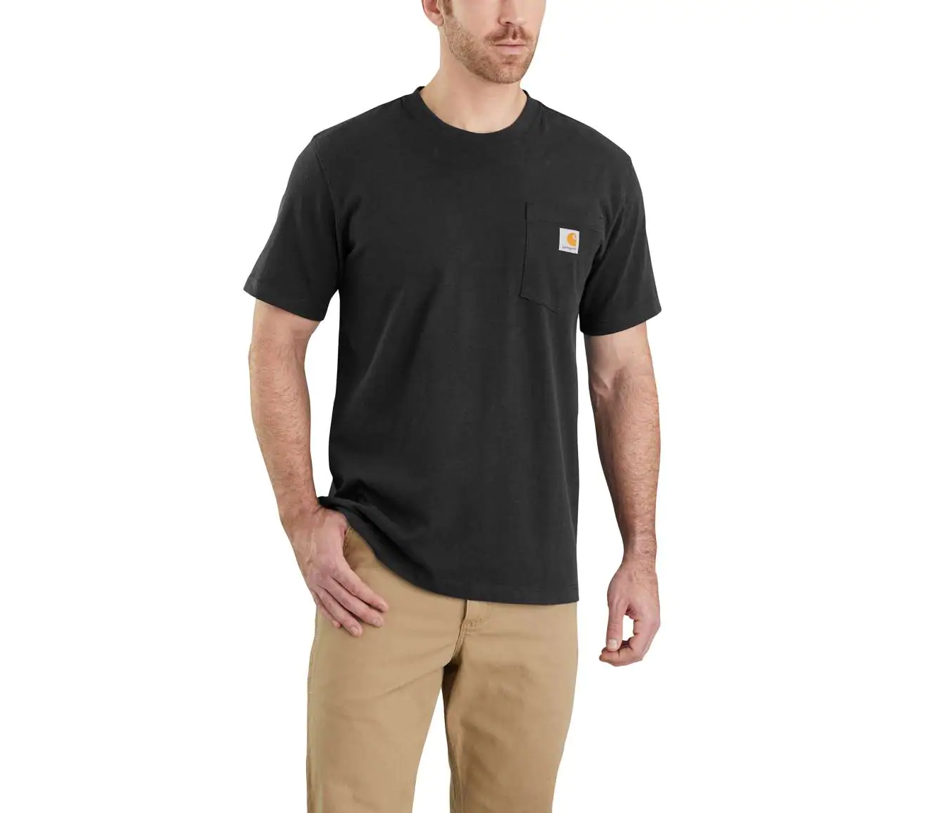 Workwear Pocket Tee - Black