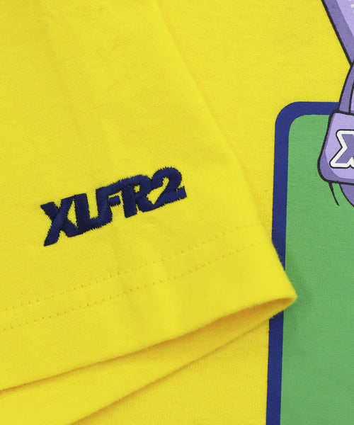 FR2 x XLARGE Biker Girl Exclusive Tee - Yellow