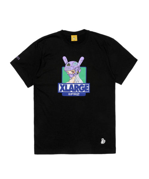 FR2 x XLARGE Biker Girl Exclusive Tee - Black