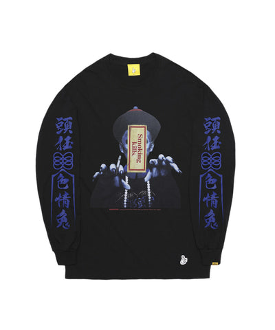 FR2 The Zombie Long-Sleeve Tee - Black