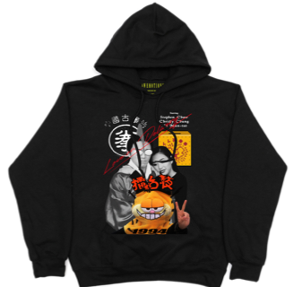 Love On Delivery Hoodie - Black